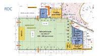 RDC plan salle polyvalente ACFT bischwiller