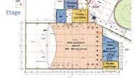 Plan etage salle polyvalente ACFT Bischwiller